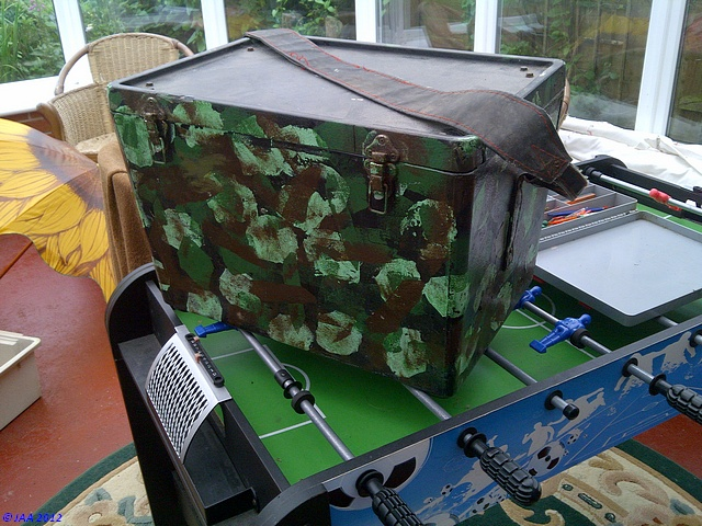 The Big Camo Tackle Box