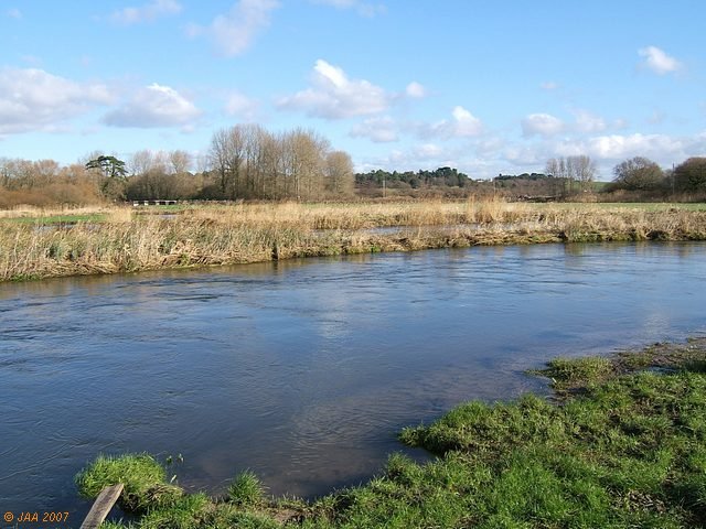 River Frome.
