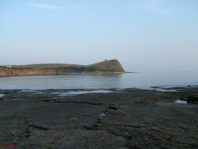Kimmeridge Bay, perfect evening