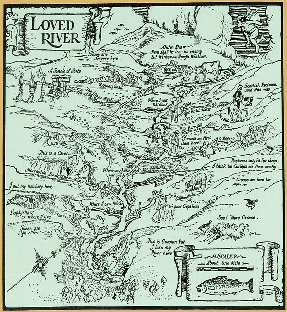 H.R. Jukes 'Loved River' map.